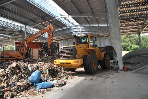 Uskom – linia technologiczna do biostabilizacji odpadów