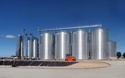 Zakład magazynowania zbóż
